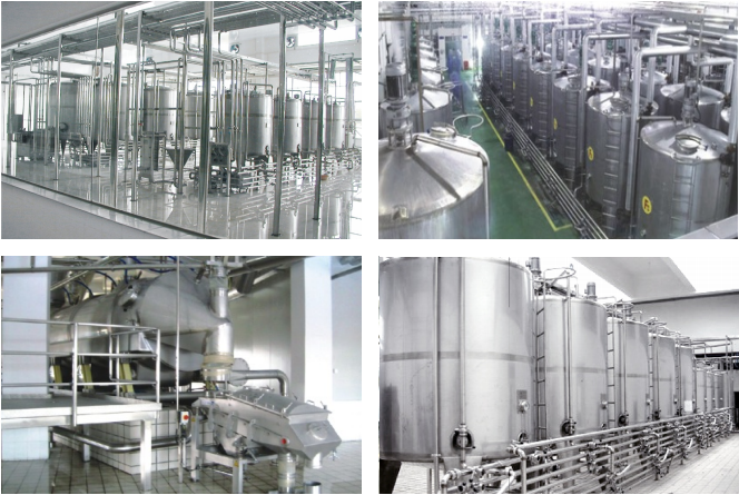 Liquid Milk / Beverage / Milk Powder Machinery